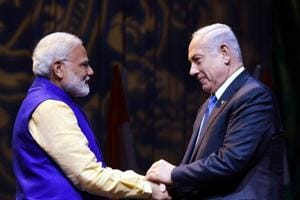 Netanyahu to get warm welcome in Ahmedabad, joint roadshow with...