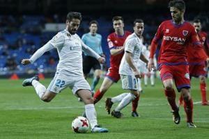 Real Madrid advance in Copa del Rey despite draw against Numancia