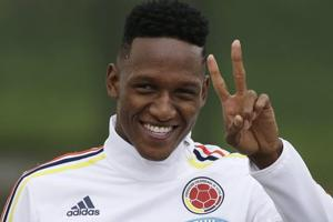 FC Barcelona sign Colombian centre-back Yerry Mina from Palmeiras