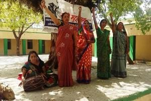 Many a times, the women were attacked by the conservative villagers.
