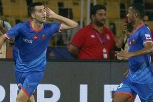 Manuel Lanzarote scored a fine brace to guide FC Goa to a 2-1 win over...