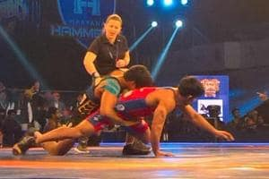 Haryana Hammers beat Delhi Sultans for second win in Pro Wrestling...