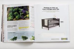 Would you pee on a magazine ad to get discount? IKEA is asking women...