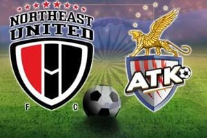 NorthEast United FC vs ATK, Indian Super League, live score
