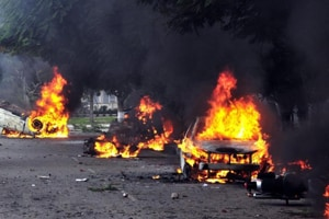 As many as 42 persons were killed after clashes broke out between dera followers and security agencies in Panchkula after dera chief Ram Rahim's conviction.