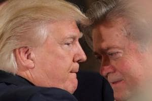 Donald Trump says he feels betrayed by Bannon