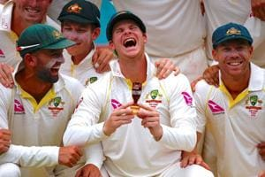 Photos of the week: From Australia's Ashes victory to the two...