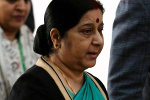 Sushma Swaraj helps Indian woman stranded with son's body at Kuala...