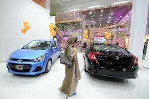 Saudi Arabia opens its first women-only car showroom in Jeddah: Photos