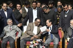 Issues raised by SC judges internal matter of judiciary, say...