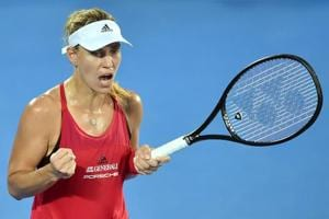 Angelique Kerber to face Ashleigh Barty in Sydney International tennis...
