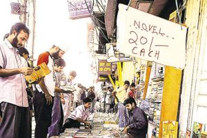 Started in 1964, the Daryaganj book market is known for rare book titles being sold at throwaway prices.