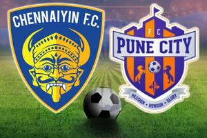 Indian Super League, Chennaiyin FC vs FC Pune City, live score
