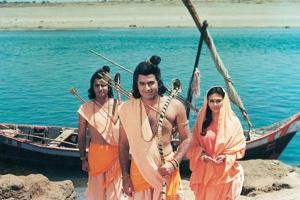 The pilot episode of the show was culled out of four episodes which Ramanand Sagar had shot before Doordarshan commissioned him the show.