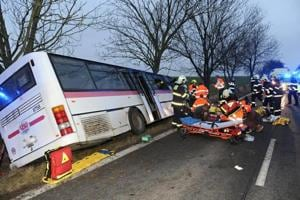 Three dead, 45 injured in Czech bus crash