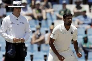 R Ashwin was at his effective best onDay 1 of the second Test between India and South Africa in Centurion, snapping up three important wickets.