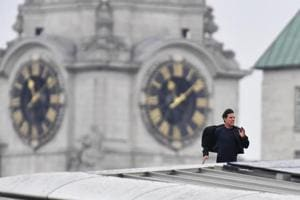 Tom Cruise spotted running like Tom Cruise across London for...
