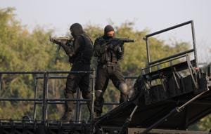 Forces bring counter-terror skills to the fore on NSG Manesar campus