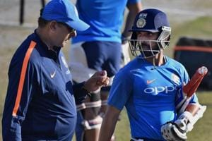 India decided to bench Ajinkya Rahane for the second Test in Centurion too.