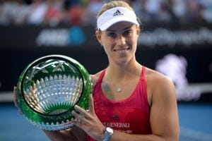 Angelique Kerber beats Ashleigh Barty to win Sydney International...