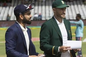 Even though South Africa are leading the three-Test series against...