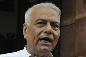 Yashwant Sinha asks BJP leaders and ministers to 'speak up for...