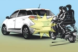 Delhi: Three men abduct engineer after ramming into car, rob him in...