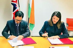 India, UK ink pacts on illegal migrants' return, sharing intelligence