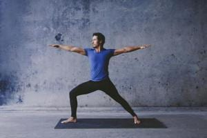 Dear men, there's good news for you. Yoga can slow down ageing of the...