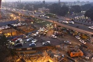 At Delhi's Ashram Chowk, there's no end in sight for commuters'...