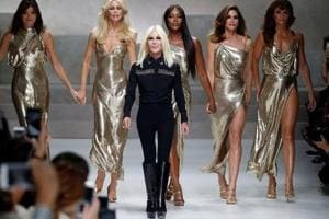 Milan Fashion Week 2018: Versace goes punk wild with homey looks