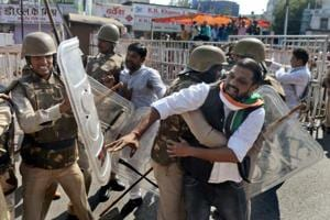 BJP, Congress workers clash after Shivraj Chouhan meeting in Digvijaya...