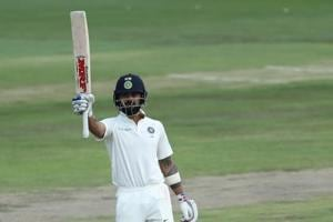 Virat Kohli's gritty knock keeps India afloat...