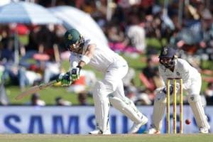 Faf du Plessis' 17th fifty revives South Africa in Centurion Test...