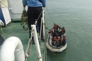 Chopper crash off Mumbai coast:'Helicopter could have broken in the...
