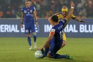 ISL: Iain Hume strikes again as Kerala Blasters FC pip Mumbai City FC