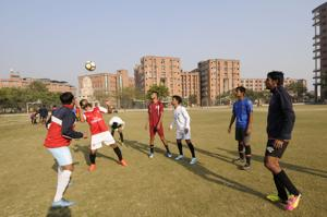 As many as eight states will be participating in the 72nd Santosh Trophy tournament (north zone) on the campus of Sharda University in Greater Noida from Monday.