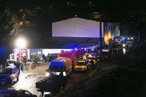 Fire kills eight, injures 38 at Portugal community centre