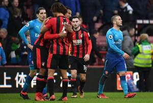 Alexis Sanchez missing as Arsenal lose to Bournemouth in Premier...