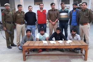 Haryana Special Task Force arrests four shooters within days of being...