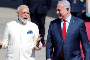 Israeli PM Benjamin Netanyahu arrives in India today for 6-day visit