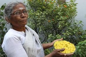 M Meena is called Amma, or mother, in the south Delhi household where she has been working for 40 years.