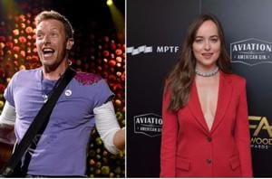 Fifty Shades' Dakota Johnson spotted on a date with Coldplay's Chris...