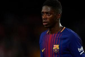 FC Barcelona's Ousmane Dembele suffers new injury setback