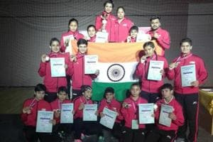 India won 13 medals in the junior category and four medals in the youth category of the boxing meet in Serbia.