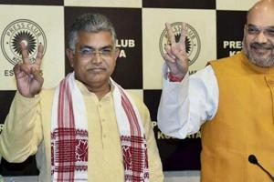 FIRs lodged against Bengal BJP president Dilip Ghosh
