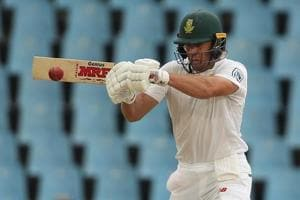 AB de Villiers' 42nd fifty puts South Africa in good position against...