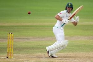 AB de Villiers' unbeaten 50 helped South Africa wrest back initiative of the Centurion Test against India at the end of Day 3 on Monday.