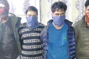 The Dehradun police on Monday grilled Punjab's wanted gangster Harsimrandeep Singh alias Simma, who was arrested along with his three accomplices from the state capital in a joint operation by the Punjab and Dehradun police.