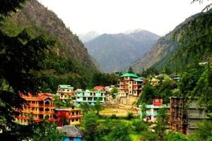 Kasol village in Kullu district (in pic) and Dharamkot village in Kangra are much frequented by Israeli tourists.